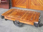 Industrial Lineberry Cart Table 20022