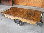 Industrial Lineberry Cart Table E19041
