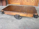 Daisy Wheel Cart Table F19041