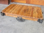 Daisy Wheel Cart Table F19062