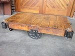 Daisy Wheel Cart Table F19051