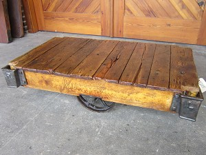 Nutting Cart Table N205